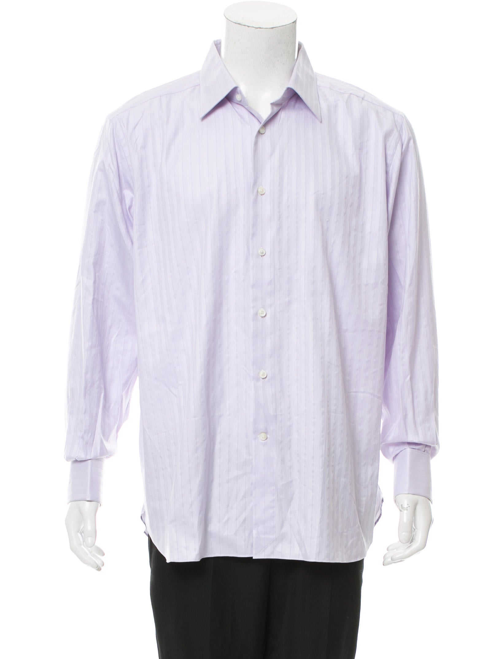 Ermenegildo zegna french cuff button up shirt clothing for French cuff dress shirts for sale