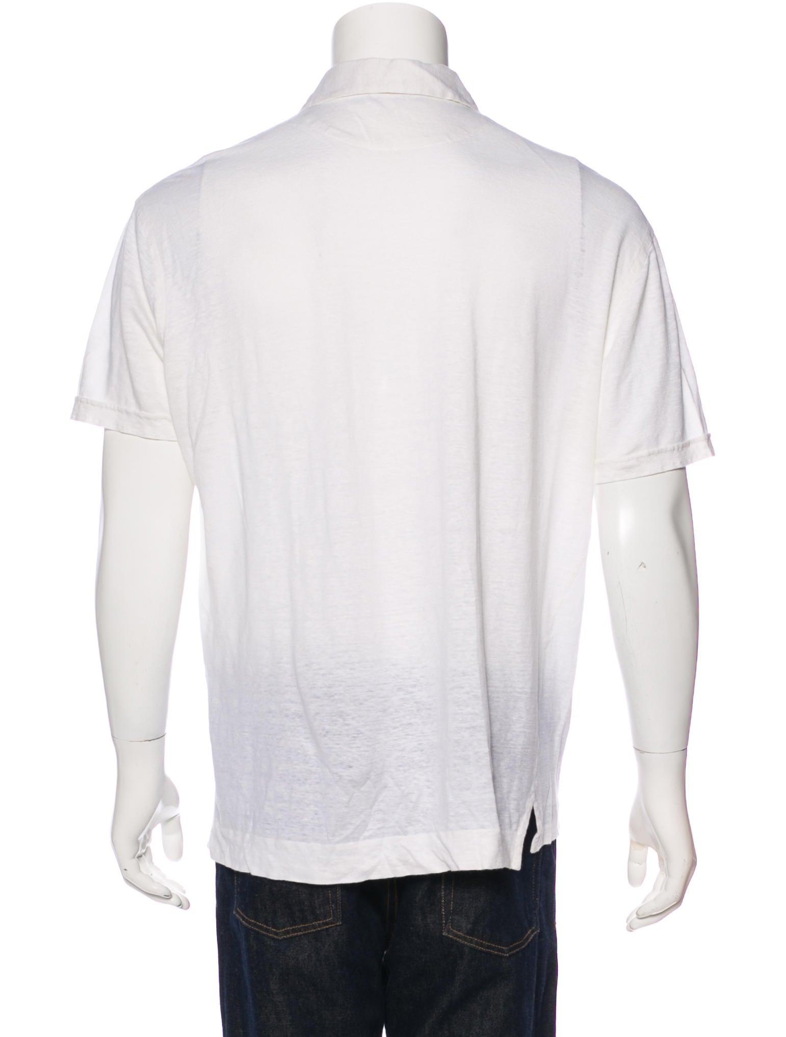 Ermenegildo zegna linen polo shirt clothing zgn25690 for Zegna polo shirts sale