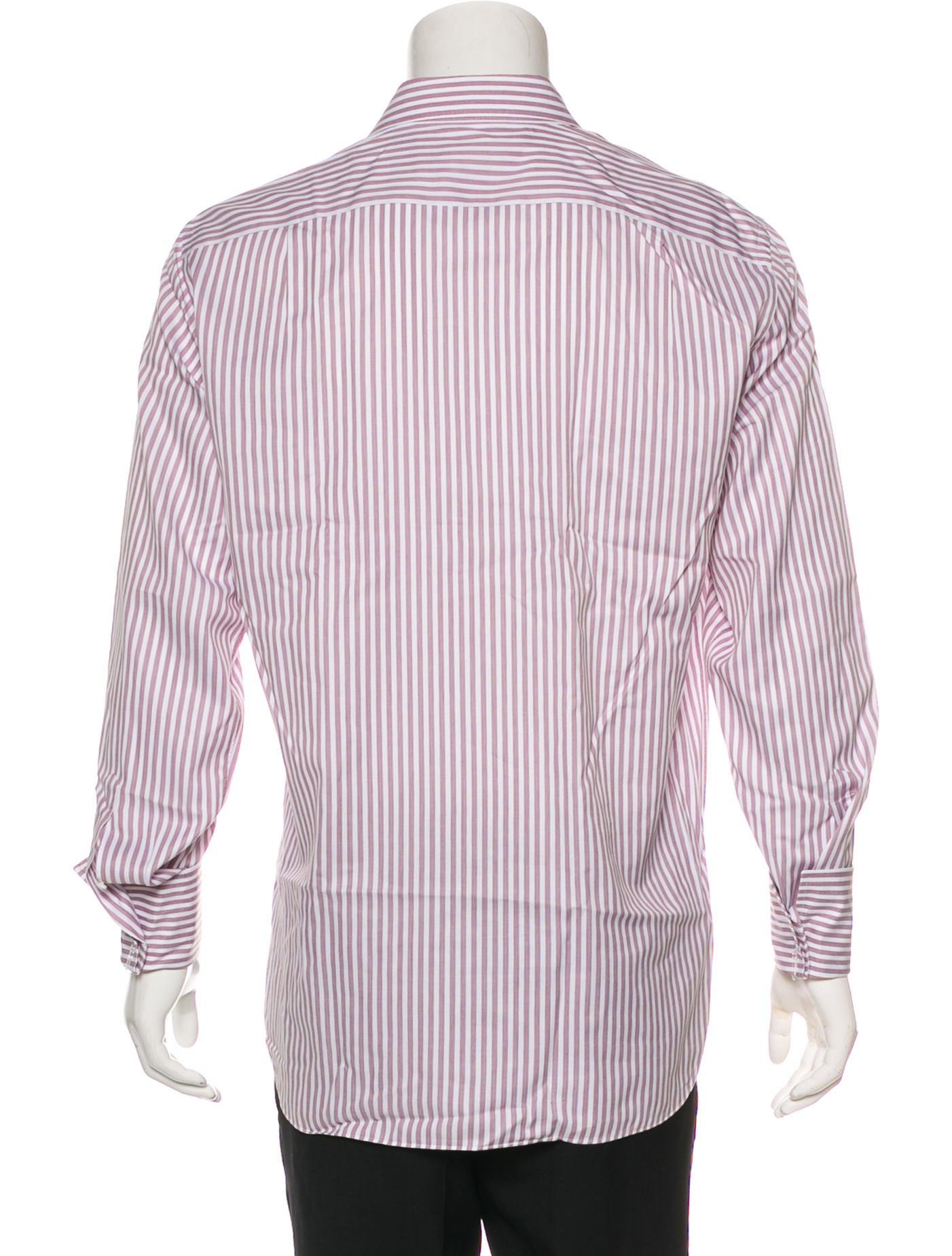 Ermenegildo Zegna French Cuff Dress Shirt Clothing Zgn28457
