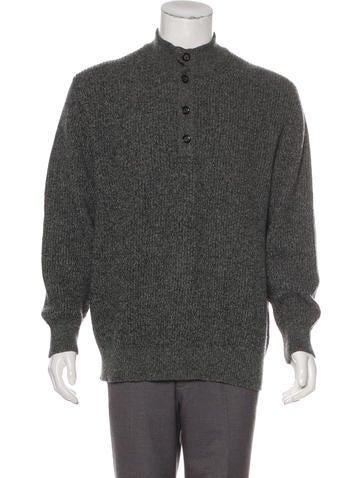 2999ad419522 Ermenegildo Zegna. Wool Henley Sweater