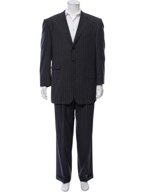 Ermenegildo Zegna Wool Two-Piece Suit grey