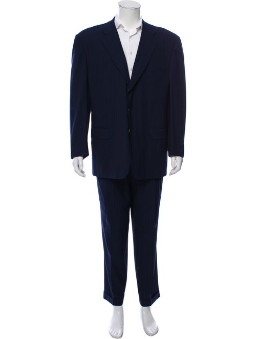 Ermenegildo Zegna Wool Two-Piece Suit blue