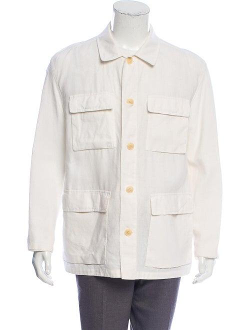 Ermenegildo Zegna Linen Utility Jacket