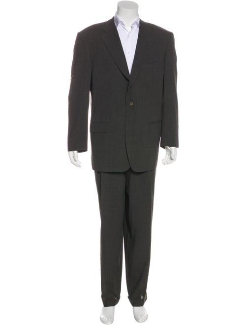 Ermenegildo Zegna Wool Two-Piece Suit Set grey