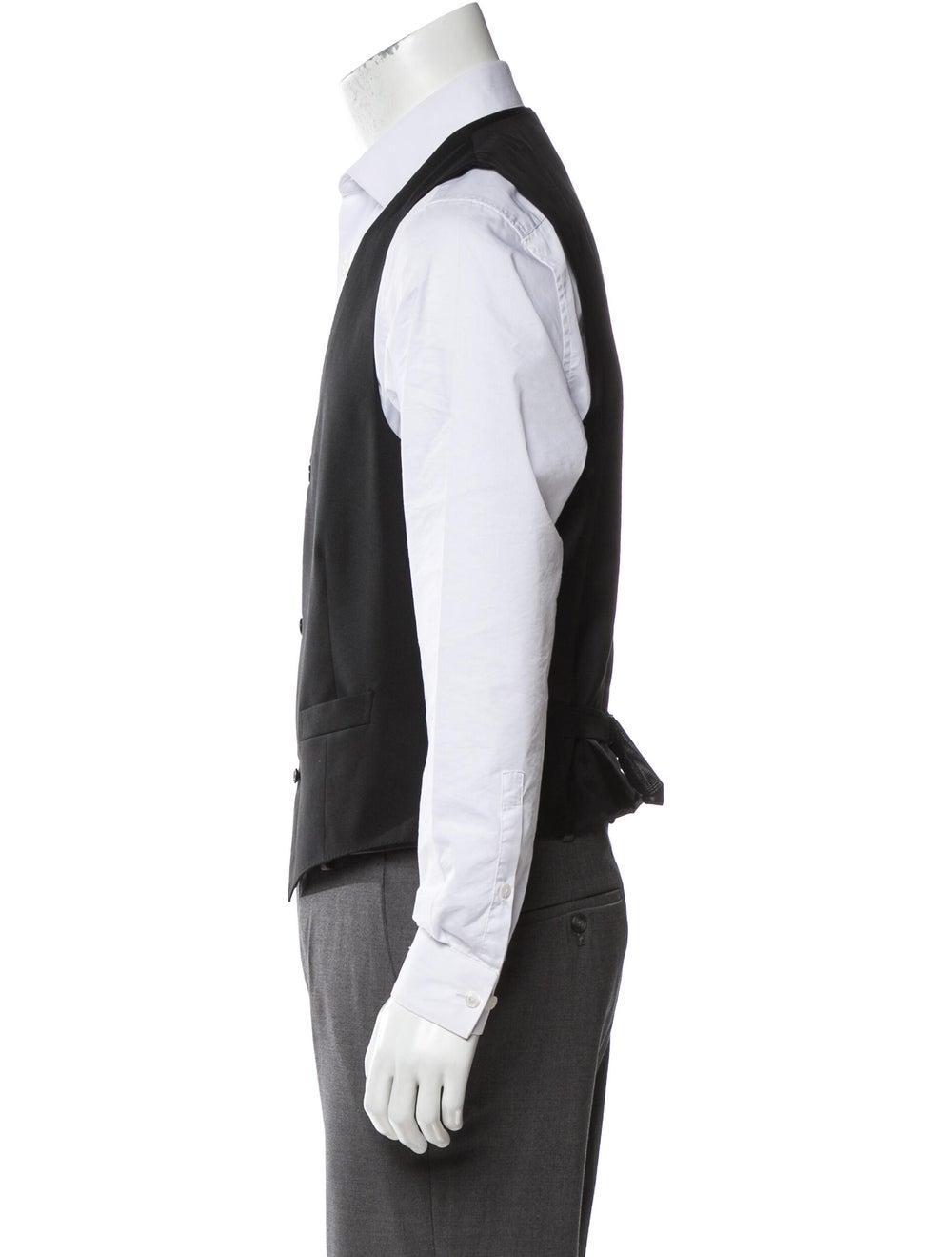 Ermenegildo Zegna Wool Suit Vest w/ Tags black - image 2