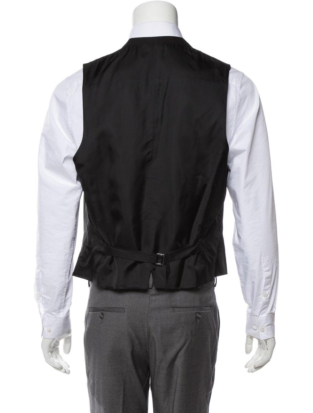 Ermenegildo Zegna Wool Suit Vest w/ Tags black - image 3