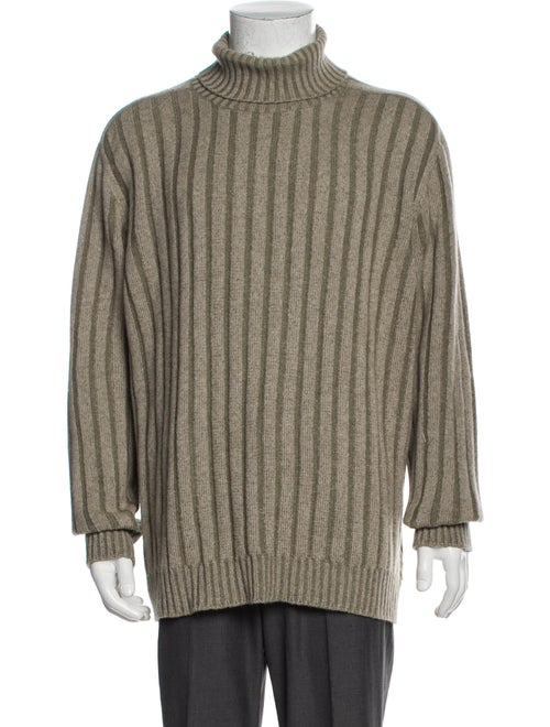 Ermenegildo Zegna Striped Turtleneck Pullover
