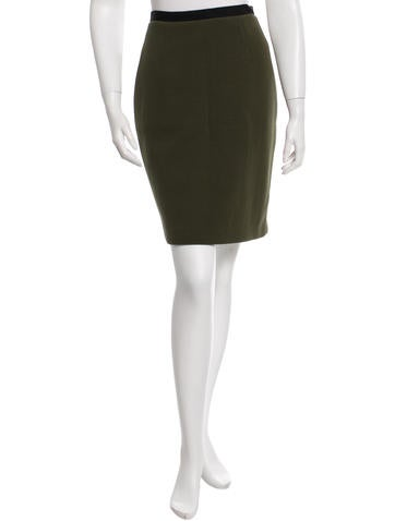 Karolina Zmarlak Knit Pencil Skirt w/ Tags None