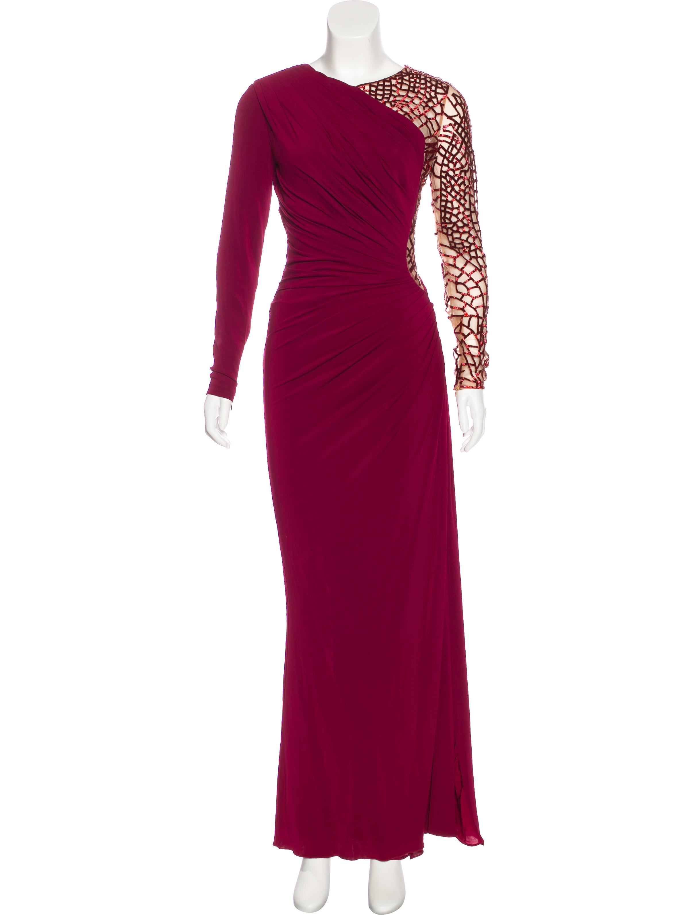 Zuhair Murad Embellished Draped Gown - Clothing - ZUH20112   The ...