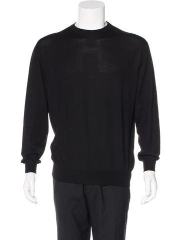 Z Zegna Cashmere Crew Neck Sweater None