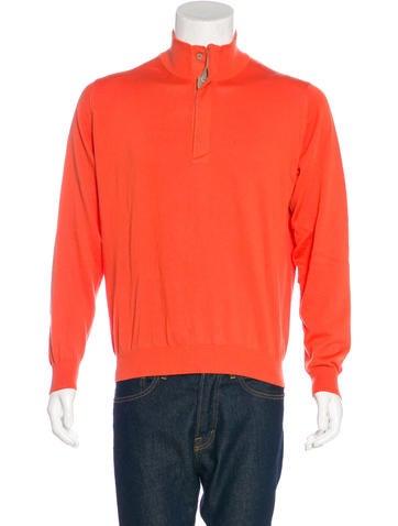 Z Zegna Knit Henley Sweater None