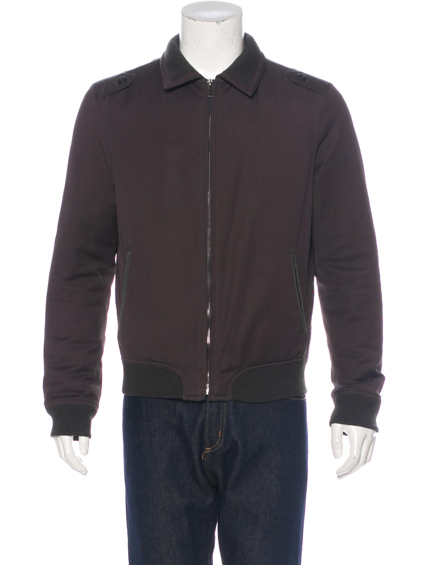 c33fcf7d Z Zegna Twill Bomber Jacket - Mens Outerwear - ZZG20353 | The RealReal