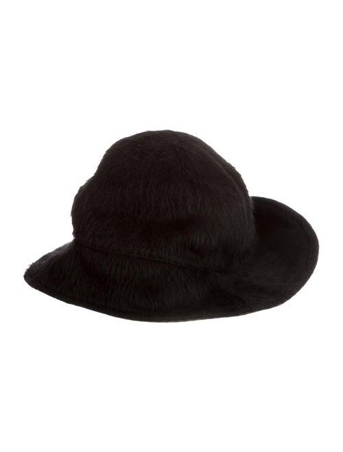 Z Zegna Wool Bucket Hat black