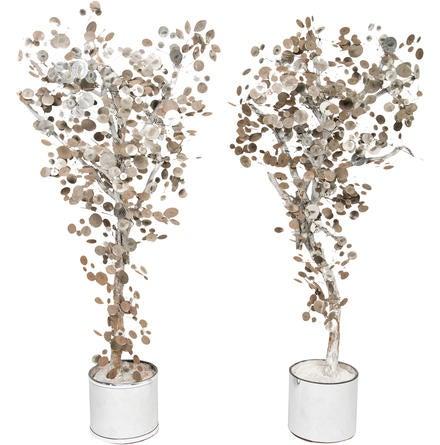 Pair of Tree Sculptures None