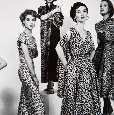 Leopard Print Fashion Ad