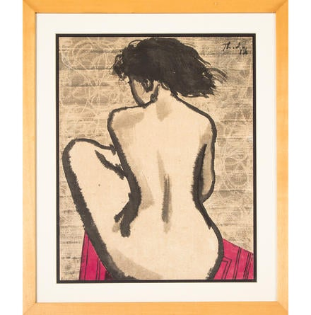 Untitled (Nude Woman) None