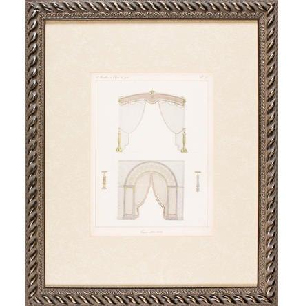 Unknown meubles et objets du gout architectural engraving for Meuble architectural