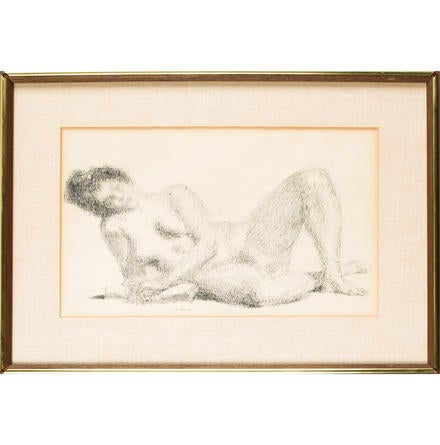 Female Nude Reclining None
