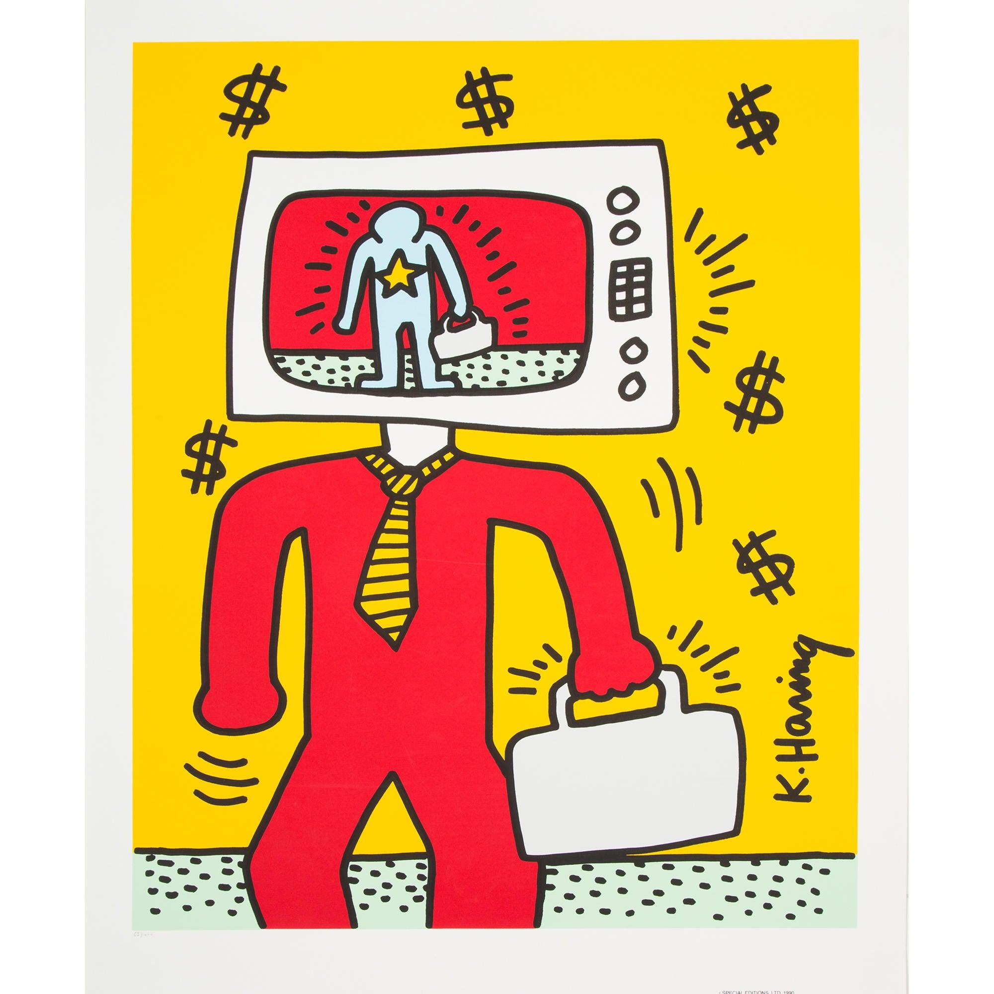 Keith Haring Tv Man Pts20870 The Realreal