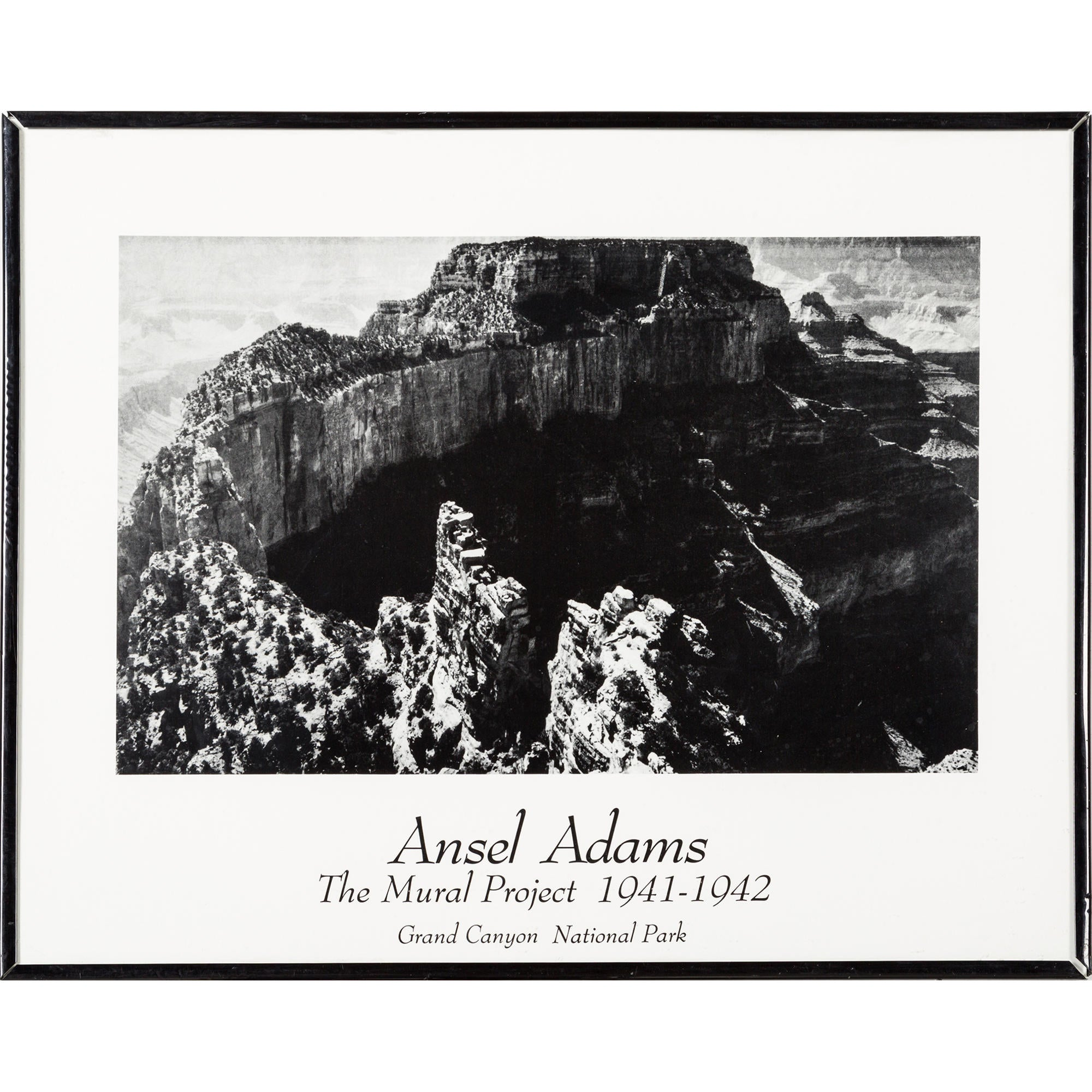 Ansel adams the mural project pts21229 the realreal for Ansel adams mural project