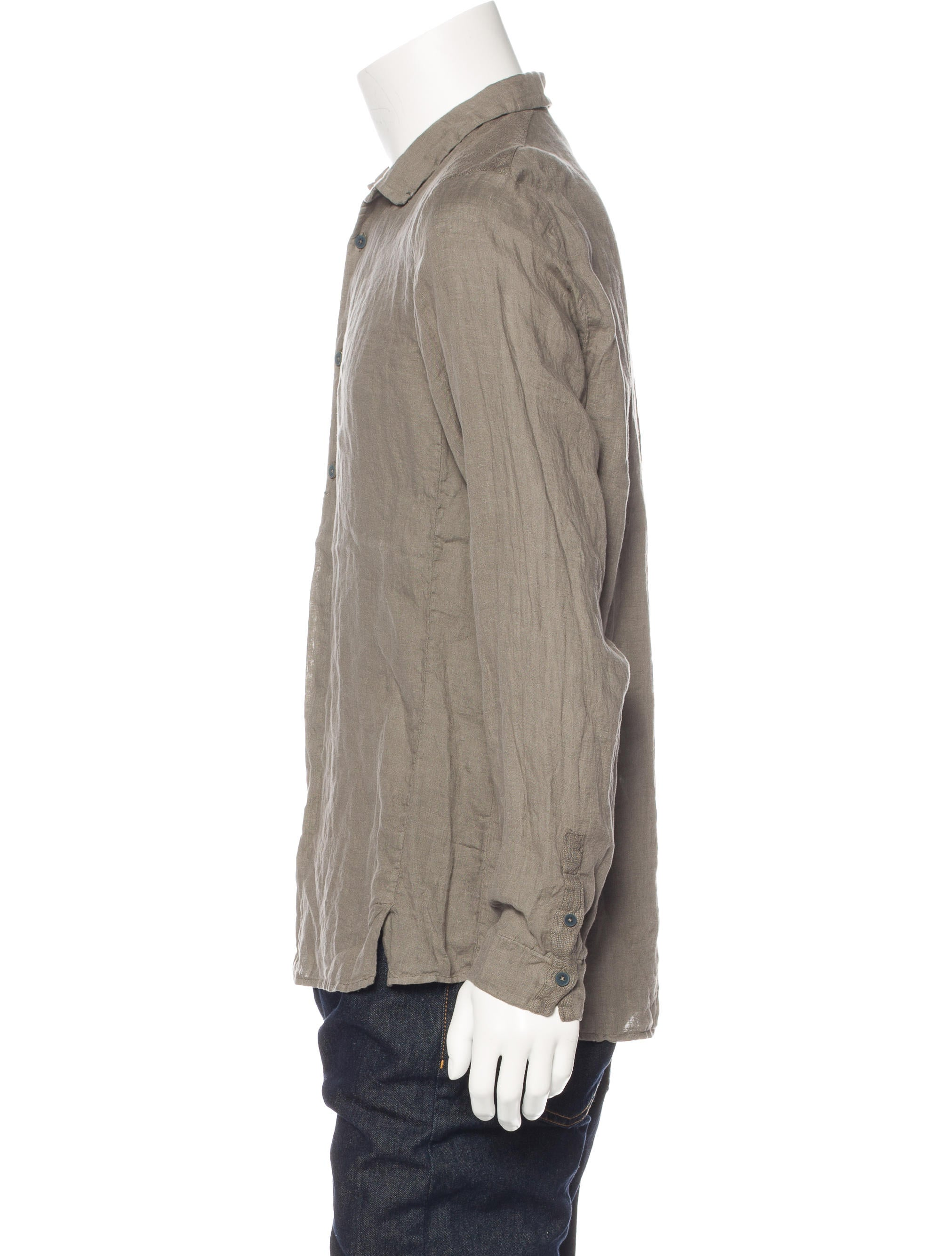 Transit linen woven shirt w tags clothing wt120064 Woven t shirt tags